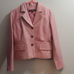 Margaret Godfrey Leather Jacket